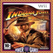 Indiana Jones: Staff of Kings (Nintendo Wii) Brand New