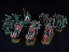 Ork army 4 warhammer 40k PAINTED