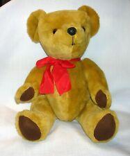 "Antique 1960's British Dean's Childsplay Mohair Teddy Bear Wales 16"""