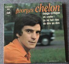 Georges Chelon, tango critique + 3, EP - 45 tours