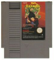 WRATH OF BLACK MANTA Nintendo NES PAL ITA Videogioco