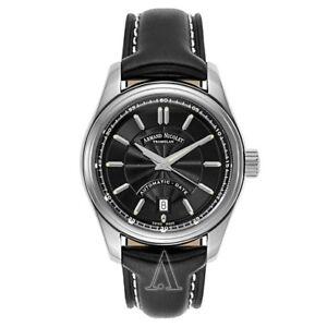 Armand Nicolet M02 Men's Automatic Watch 9140A2-NR-P140NR2 - AUTHENTIC.