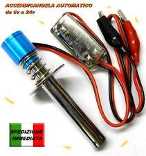 Accendicandela Scaldacandela per Candela Glow Automatico 100% ingr. da 6v a 24v