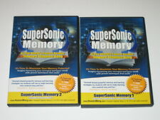 SuperSonic Memory DVDs & Printable CD by Howard Berg