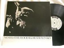 IGOR STRAVINSKY Noah & The Flood Robert Craft Columbia 6 eye 1 sided promo LP