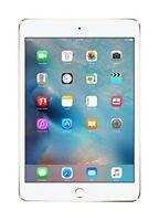 """Apple iPad Mini 4 7.9"""" Tablet 128GB Wi-Fi  - Gold (MK9Q2LLA)"""