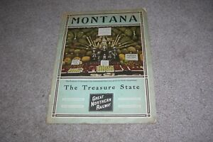 c.1920s? Montana Booklet by the Great Northern Railway/Railroad
