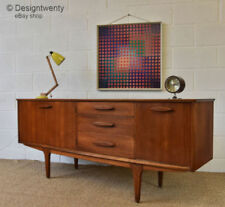 Teak Sideboards, Buffets & Trolleys with 3 Drawers
