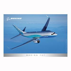 Flugzeugpostkarten - Boeing 737-800 Boeing Livery NEU