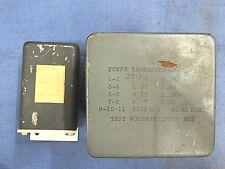 M) Transformer, power transformer, 650 volts CT, 5 volts and 6.3 volts