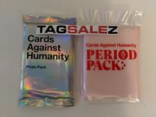 Cards Against Humanity CAH PRIDE GAY & PERIOD Exp Packs Part of Profits Donated