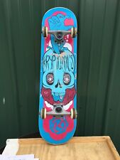 "Kryptonics 31"" Skateboard Skull"