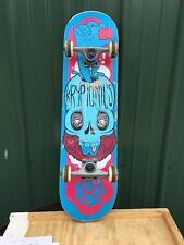 """Kryptonics 31"""" Skateboard Skull"""