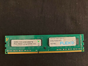 "SK Hynix ""Flex"" (1x 4GB) DDR3 1333, PC3-10600, Long-DIMM, 9-9-9, 240-pin, 256M*8"