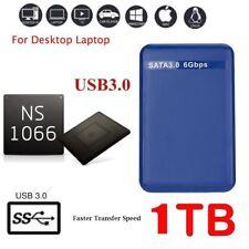 """1 TB RIVE HDD Externe Festplatte USB 3.0 2,5 """"Erweiterung Speicher Festplatte EU"""