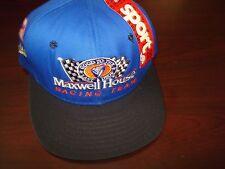 NASCAR RACING MAXWELL HOUSE LABON  AJD SCRIPT NEW VINTAGE 90'S HAT CAP SNAPBACK