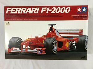 1/20 scale model KIT TAMIYA Ferrari F1 2000 Grand Prix Formula One auto racing