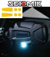 Yellow Seizmik Pursuit Night Side Mirrors- 2007-'20 John Deere Gator 620i / 625i