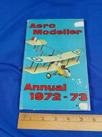 1972-73 Aero Modeller Annual Book Model Airplanes Toy Advertising VTG Pictures