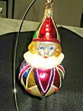 Old World Christmas By Inge Glas-Birgit Erwin'S Roly Poly