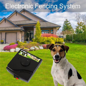 2 Shock Waterproof Collars In-Ground Dog PET Electronic Fence Containment System