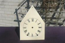 Steeple Clock Painted Dial Manross Brown Andrews Boardman Jerome Shelf Mantle