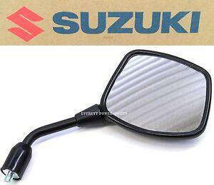 Right Mirror Assy 02-12 DL1000 , 04-11 DL650/A V-Strom Genuine Suzuki #T166