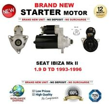 STARTER MOTOR 1.8 KW SEAT TOLEDO MK 1 1L 2 1M 91-04 1.9 D TD TDI 2.3 V5 20V