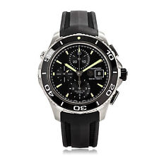 TAG Heuer Silicone/Rubber Strap Analog Wristwatches