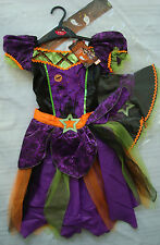 Enchanted Witch Halloween Girls Costume Cast a Spell by Sainsbury's 7-8yrs