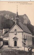MASSIF DE LA GRANDE CHARTREUSE 12 couvent chapelle étrangers tampon monastère