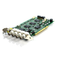4 BNC Ch 120 FPS Capture Board with a RCA Video Output PCI PCI6140-AA33PC