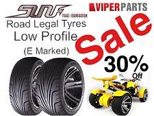 Sun F Sport Tyre (185/30-14),Road Legal Quad Bike Tyre,Spy/Jinling/Haili