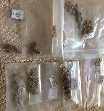 Billing BOATS RACCORDI 50+ Loose in ottone Albero Anelli di dimensioni diverse vedi foto