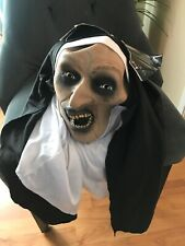The Nun Possessed Nun Mask Adult One Latex Mask Demonic Expression Horror Terror