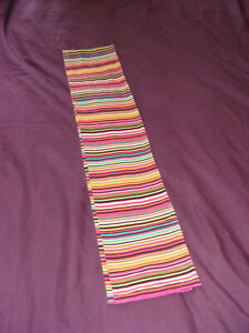 Gap Kids Multicoloured Scarf One Size Fits All 54 Inches Long