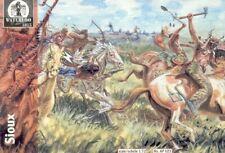 WATERLOO 1815 AP023 Sioux Indianer Figuren in 1:72