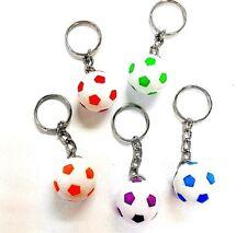 48pc Football Soccer Key chain 2cm Pinata Bag Fill Birthday Party Favor Carnival
