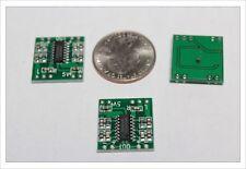 2pcs Smallest Class D 3W audio digital amplifier board module PAM8403 kit