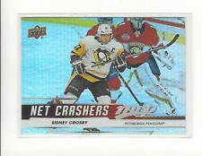 2019-20 Upper Deck MVP Net Crashers #NC9 Sidney Crosby Penguins