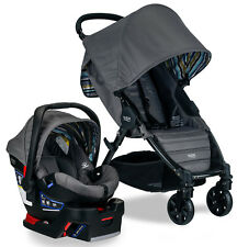 Britax Pathway Stroller & B-Safe 35 Infant Car Seat Travel System Crew NEW