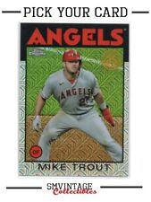 2021 Topps Series 2 - 1986 Silver Pack Refractor - Pick Your Card - Free Ship