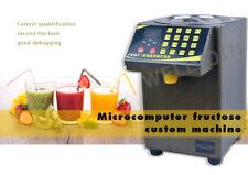 Fructose dispenser Bubble tea Equipment fructose quantitative machine