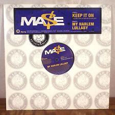 "Mase Ma$e Keep it on / My Harlem Lullaby 12"" Promo Single remixes Bad Boy rap M-"