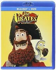 The Pirates! Band of Misfits Blu-Ray DVD