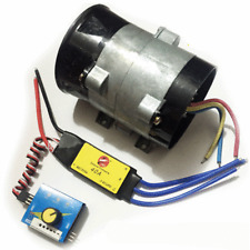 12V Car Electric Turbo Supercharger Boost Intake Fan w/ Electronic Speed Control