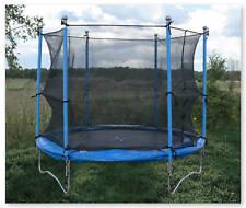 Trampoline 8ft Safety Net Enclosure Set Round Garden Kids Outdoor Toy