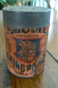 Vintage Calumet Baking Powder Tin Can Paper Label 5 oz FREE US SHIP