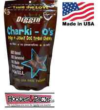 NATURAL for Dogs Joint Hip Health Supplement Chews MADE IN USA Charki O's 6 oz