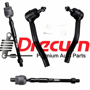 4Pc Steering Inner & Outer Tie Rod Kit for Nissan Altima 2007-2013